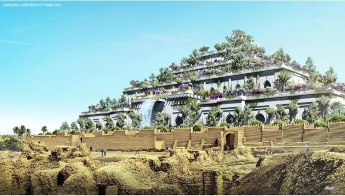 Las 7 Maravillas del Mundo Antiguo reconstruidas Снимок-166-688x390