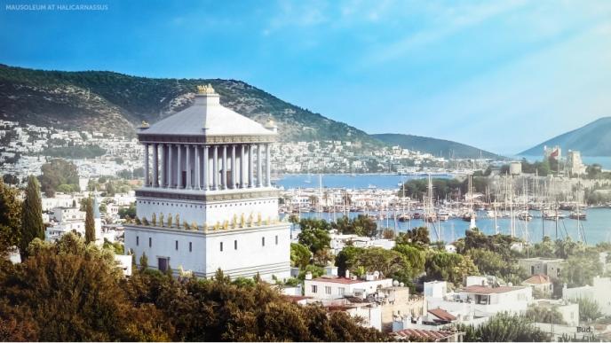 Las 7 Maravillas del Mundo Antiguo reconstruidas Снимок-170-688x387