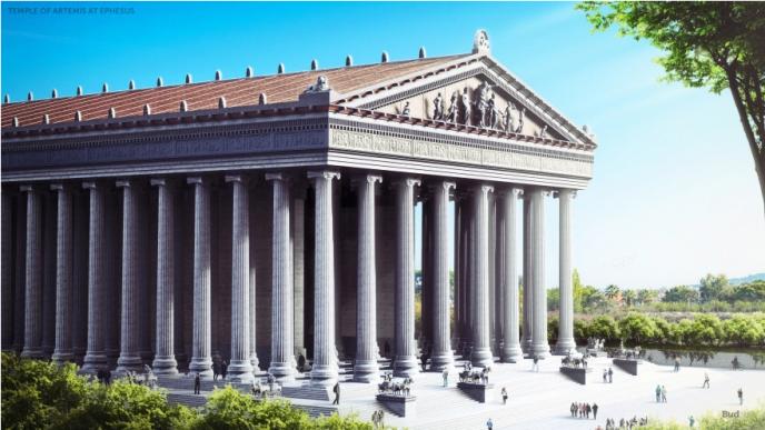 Las 7 Maravillas del Mundo Antiguo reconstruidas -174-688x387