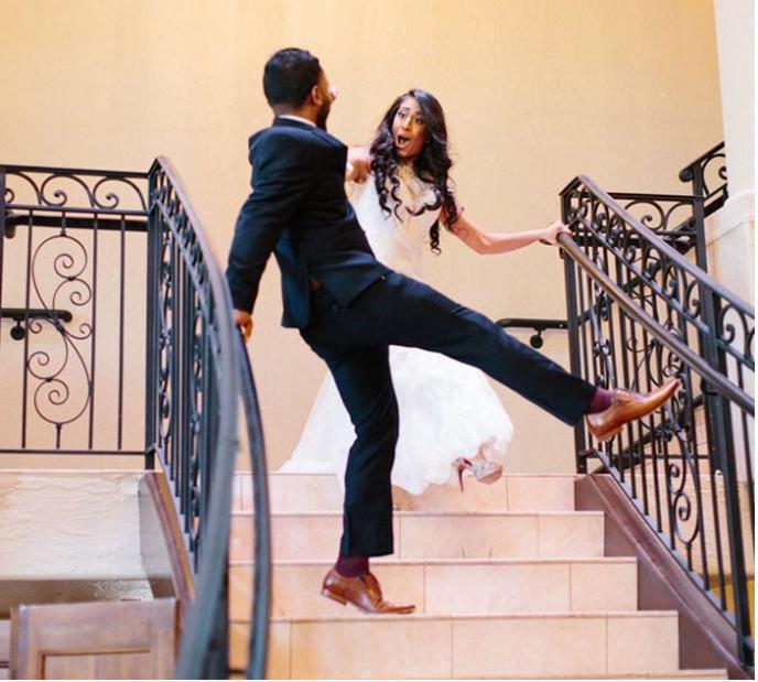 В сети делятся своими неудачными свадебными снимками