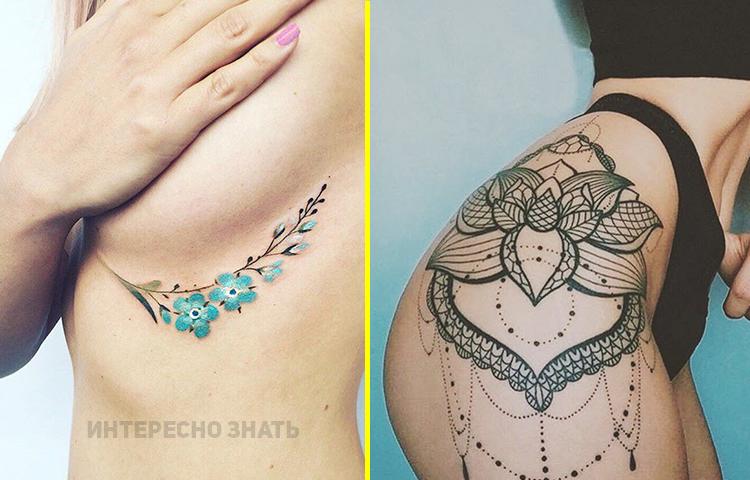 Топ сексуальных татуировок