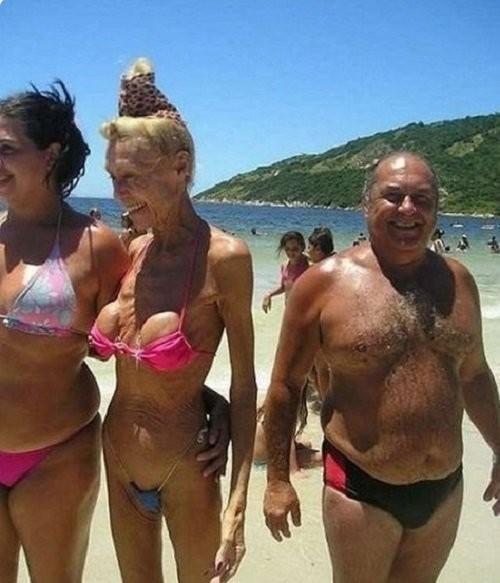 8 пляжных фриков, чьи купальники вызывают недоумение и смущение 3