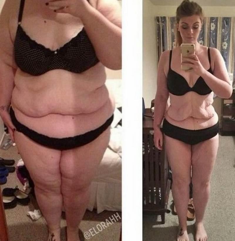 Очень сильно похудеть медленно