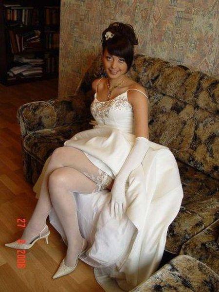 Ах, эта свадьба! Приватные фото русских невест, которые почему-то оказались в сети