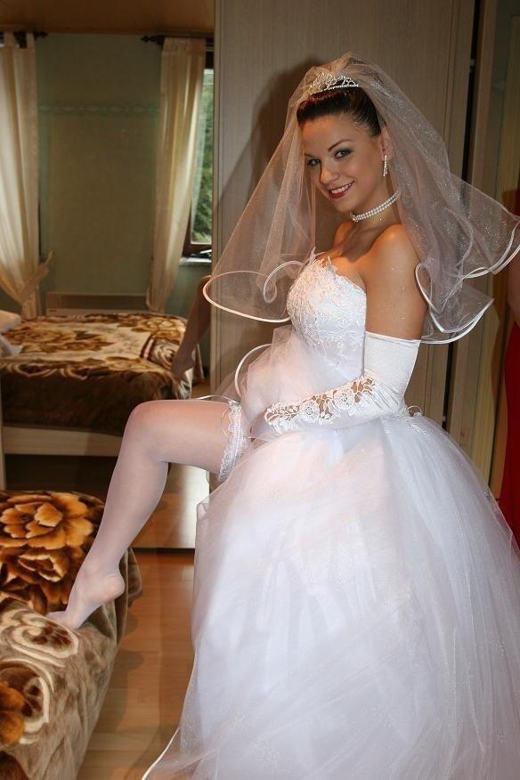 Любительское фото невест