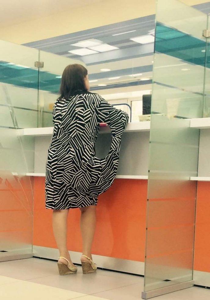 Неудачно выбрали платья