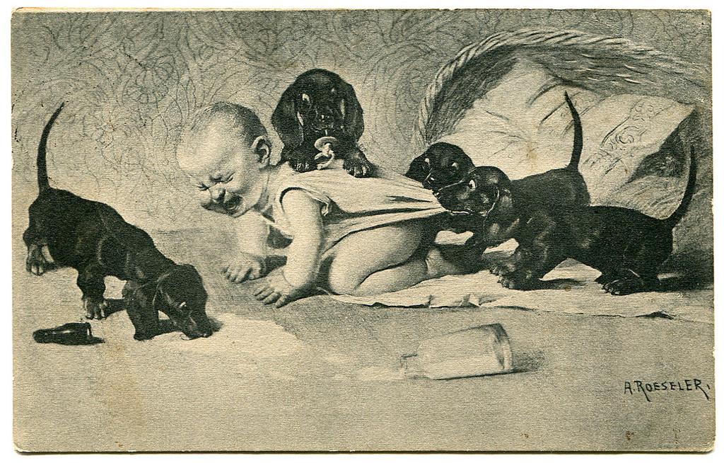 Странные открытки из прошлого, картинки для