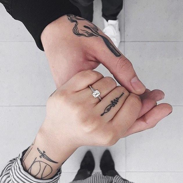 20 чувственных татуировок, которые не оставят вашего мужчину равнодушным 2