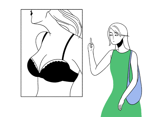 10 раздражающих моментов с женской грудью, из-за которых приходится краснеть