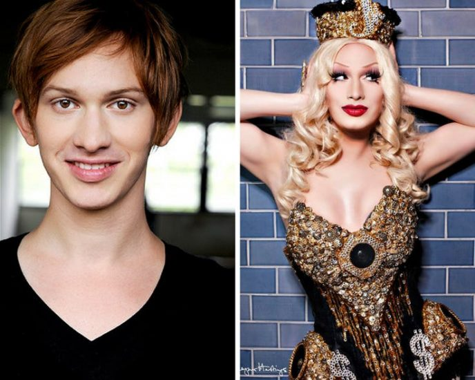Фото мужчин и женщин трансвеститов и как они перевоплощаются — photo 10