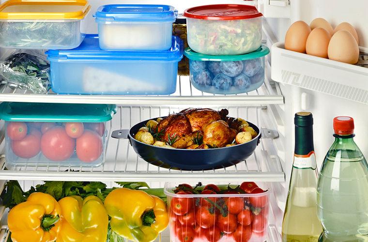 Своими руками, картинка холодильника с продуктами