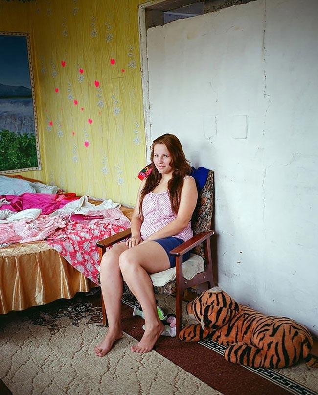 Домашнее фото русских деревенских девушек #12
