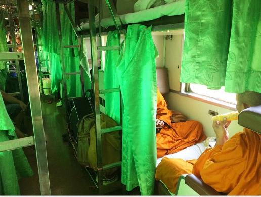 Картинки по запросу спальные вагоны таиланд