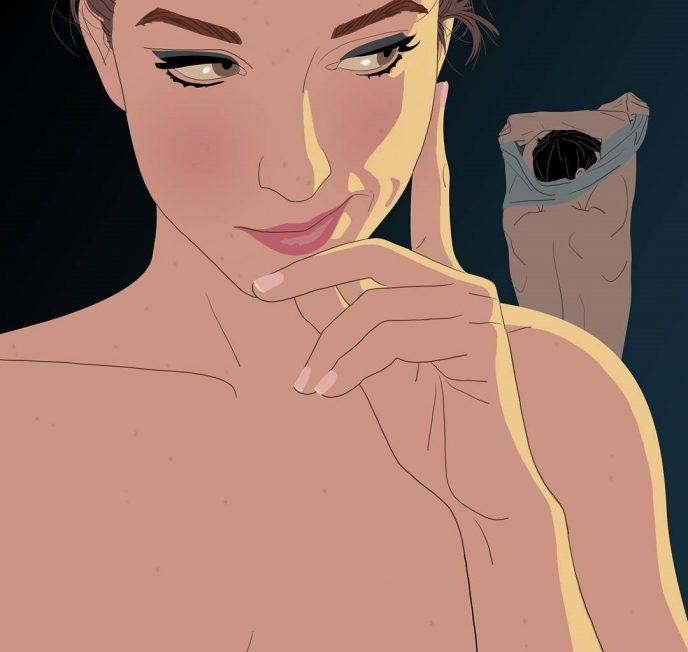 12 откровенных иллюстраций, показывающих тайную жизнь девушек 5