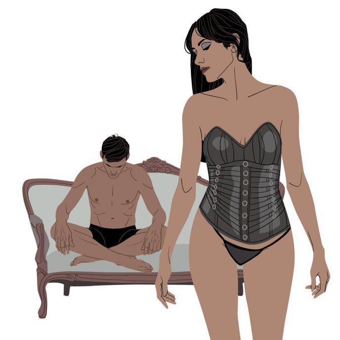 12 откровенных иллюстраций, показывающих тайную жизнь девушек 10