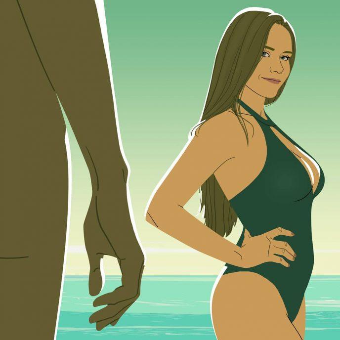 12 откровенных иллюстраций, показывающих тайную жизнь девушек 11