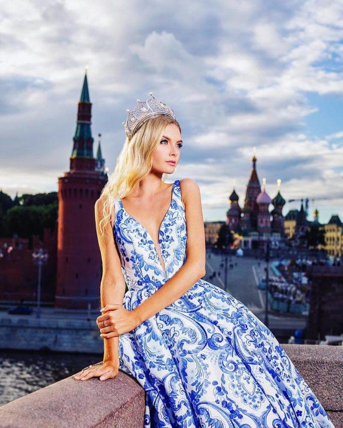 Самые красивые девушки москвы фото