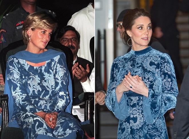 Как две капли: 16 доказательств того, что Кейт Миддлтон копирует стиль принцессы Дианы