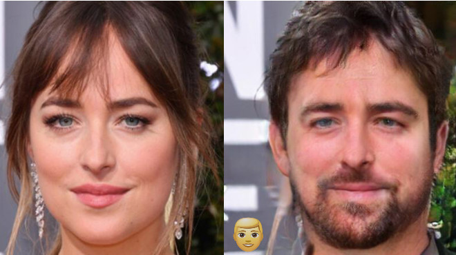 Как бы выглядели известные красавицы, будь они мужчинами 41