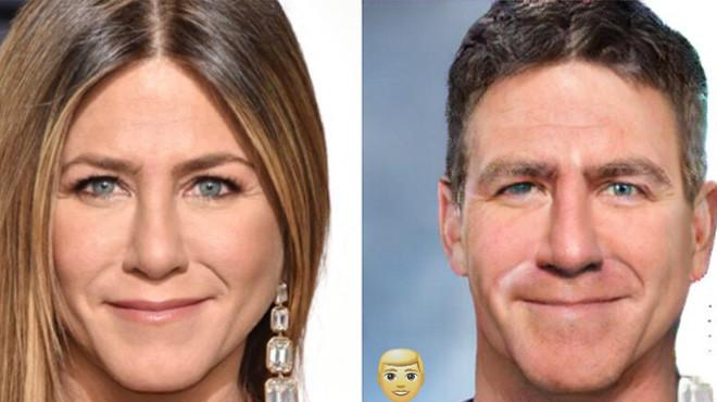 Как бы выглядели известные красавицы, будь они мужчинами 43