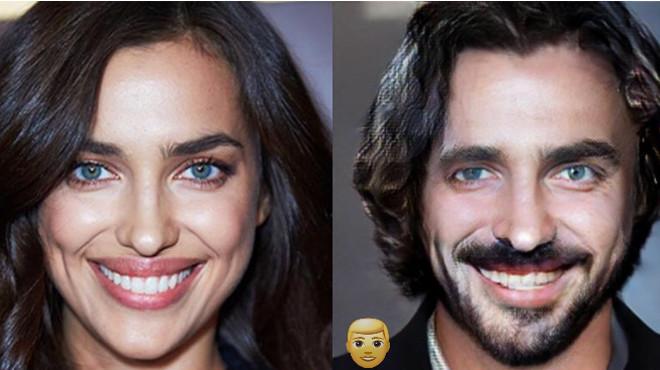 Как бы выглядели известные красавицы, будь они мужчинами 44