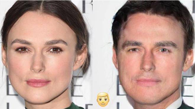 Как бы выглядели известные красавицы, будь они мужчинами 45