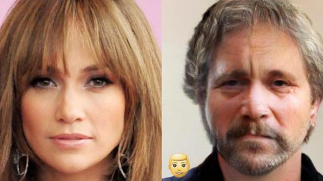Как бы выглядели известные красавицы, будь они мужчинами 47