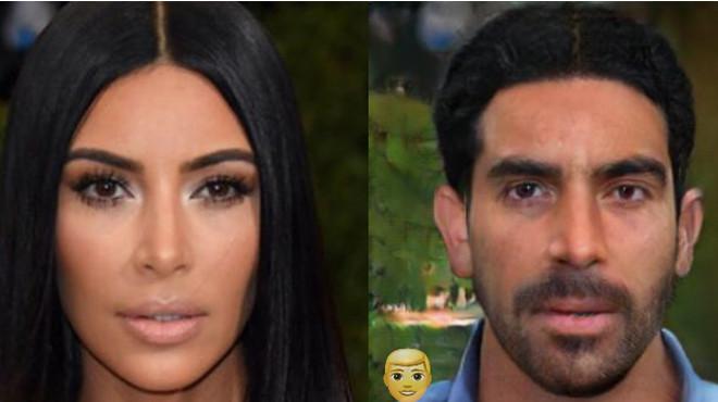 Как бы выглядели известные красавицы, будь они мужчинами 49