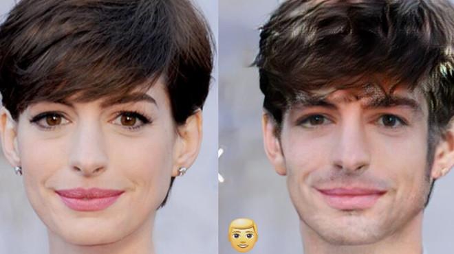 Как бы выглядели известные красавицы, будь они мужчинами 48