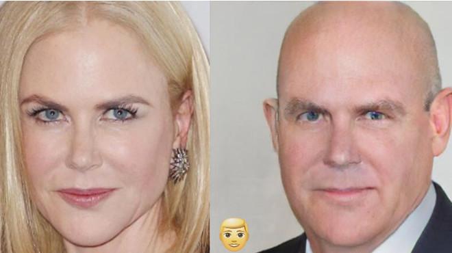 Как бы выглядели известные красавицы, будь они мужчинами 50