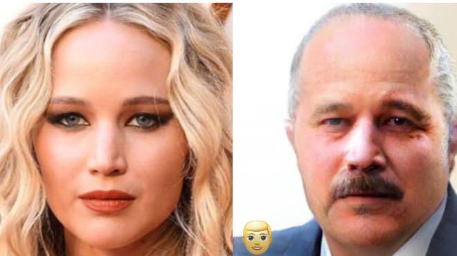 Как бы выглядели известные красавицы, будь они мужчинами 51