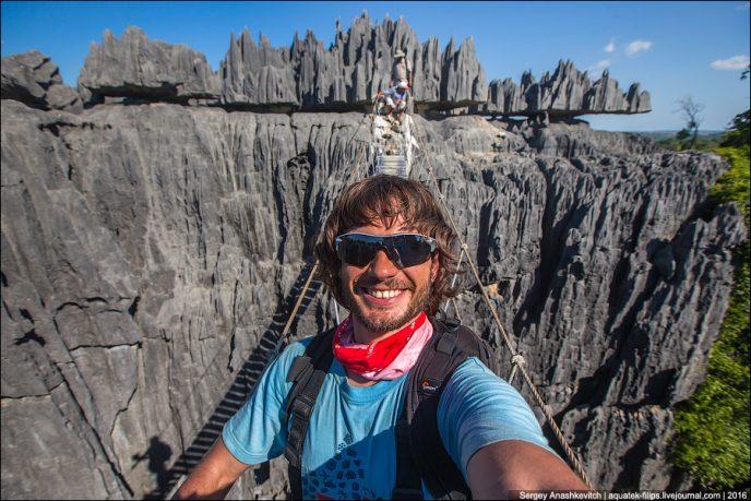 Путешествие на Мадагаскар, день 9.  Тцинги. апрель 2016
