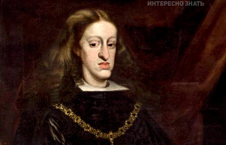 Карл II в лучшие свои годы