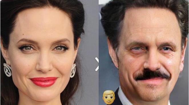 Как бы выглядели известные красавицы, будь они мужчинами 52