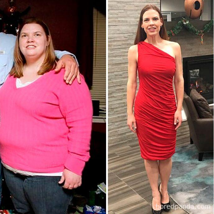 Как девушки похудели фото