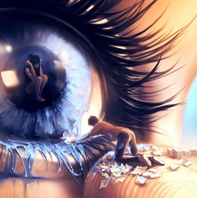 20 пронзительных иллюстраций о потайных уголках человеческой души