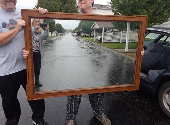 Смешные картинки для зеркала, прикольный фон для