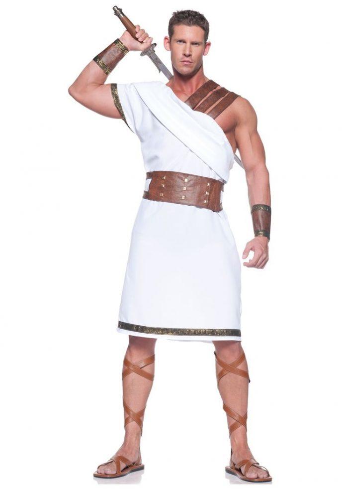 мужской костюм древней греции фото видом деятельности