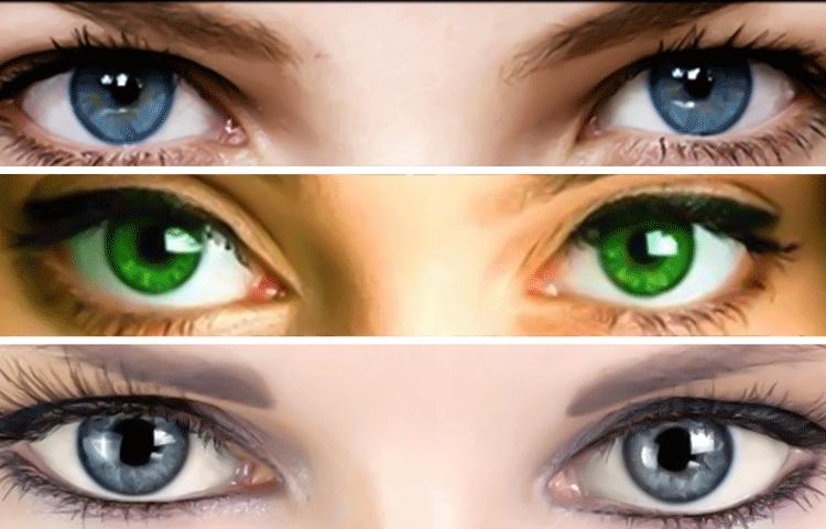Характеристика человека цвет глаз