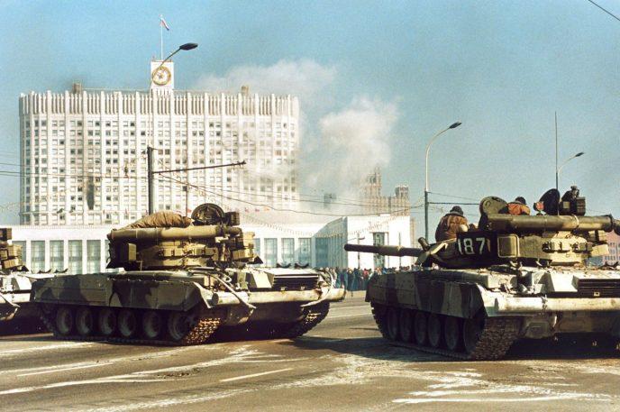 Октябрьский путч: фотографии, которые говорят о том, что на самом деле происходило 3-4 октября 1993 69