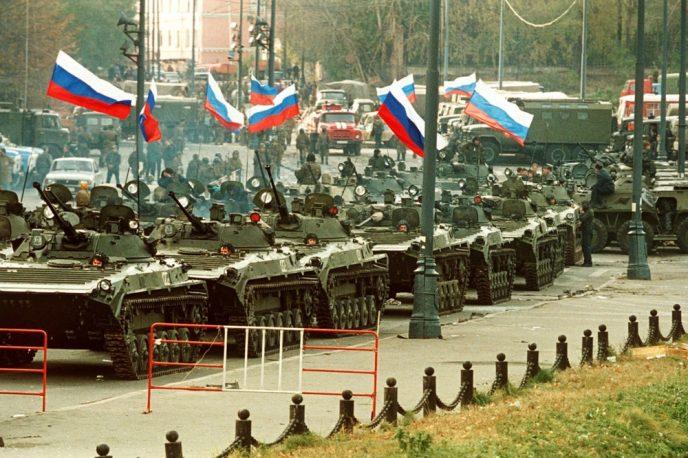 Октябрьский путч: фотографии, которые говорят о том, что на самом деле происходило 3-4 октября 1993 72