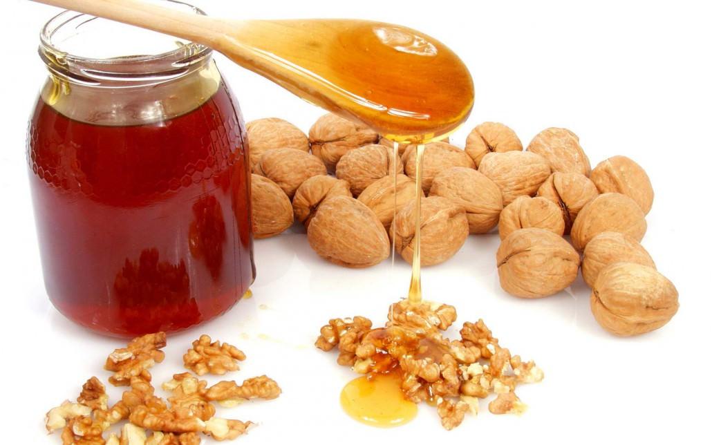 Мед с грецкими орехами польза рецепты
