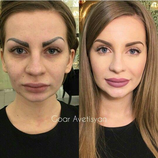 Впечатляющие примеры того, как макияж стирает возраст и меняет черты лица 2